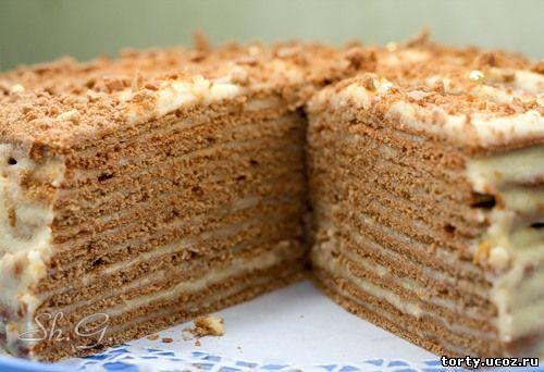 выпечка тортов рецепты с фото в домашних условиях простые