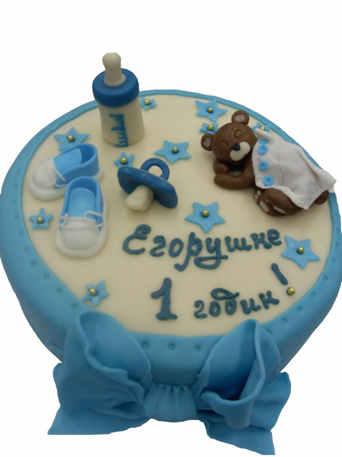 Пошаговые рецепты детских тортов с фото, идеи украшения тортов от мастериц. .  День рождения. .  Тортик на 2 года с...